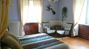 Salon de la chambre d'hôtes Hortensia
